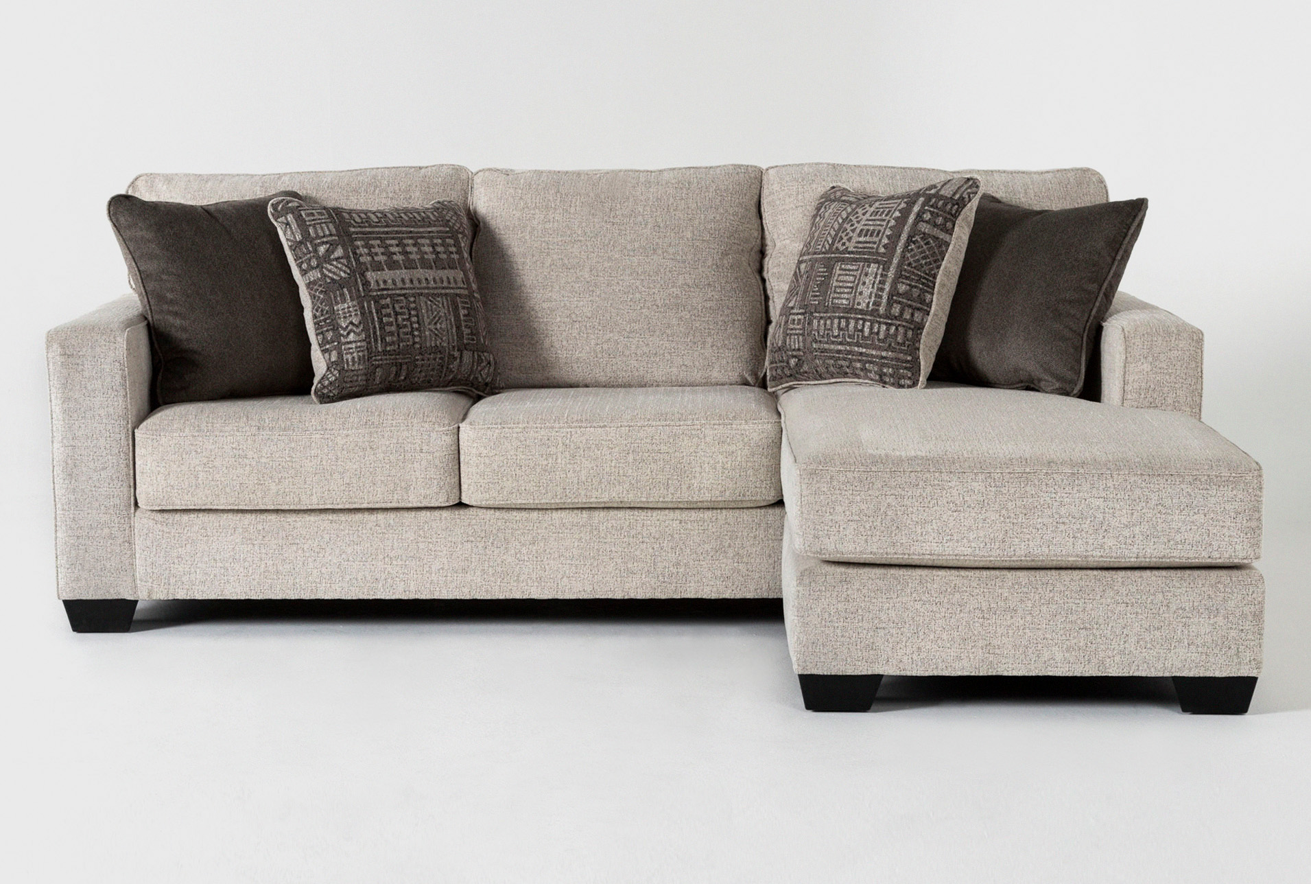Marcos 93 Sofa With Reversible Chaise Living Spaces