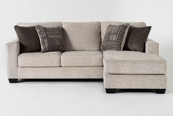 """Marcos 93"""" Sofa With Reversible Chaise"""