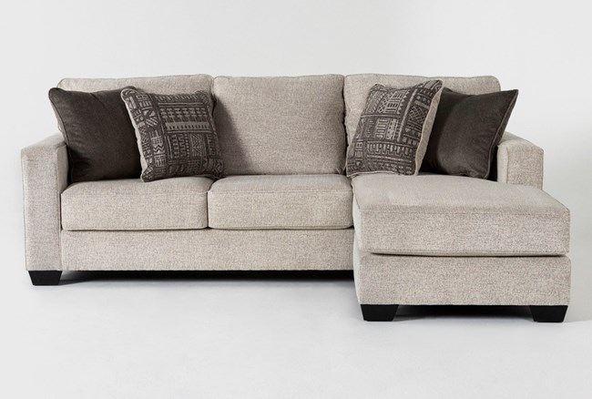 """Marcos 93"""" Sofa With Reversible Chaise - 360"""
