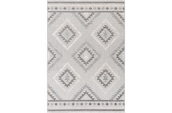 63X87 Outdoor Rug-Native Grey