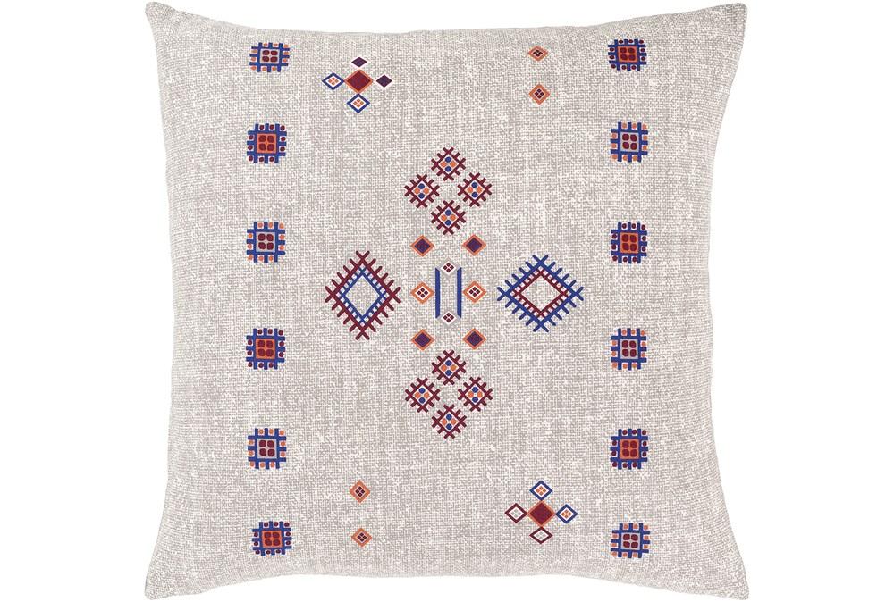 Accent Pillow-Mod Southwest Blue/Red 18X18