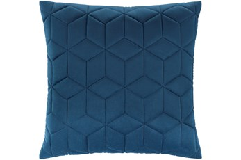 Accent Pillow-Diamond Quilt Cobalt 20X20