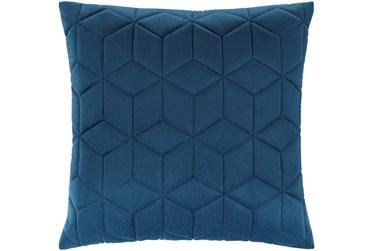 Accent Pillow-Diamond Quilt Cobalt 20X20