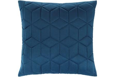 Accent Pillow-Diamond Quilt Cobalt 20X20 - Main