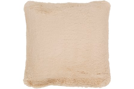 Accent Pillow-Plush Fur Taupe 20X20