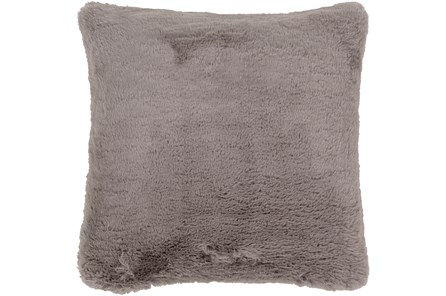 Accent Pillow-Plush Fur Grey 20X20