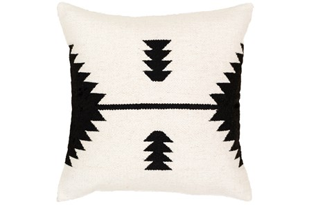 Accent Pillow-Mod Southwest Arrows Black And White 20X20 - Main