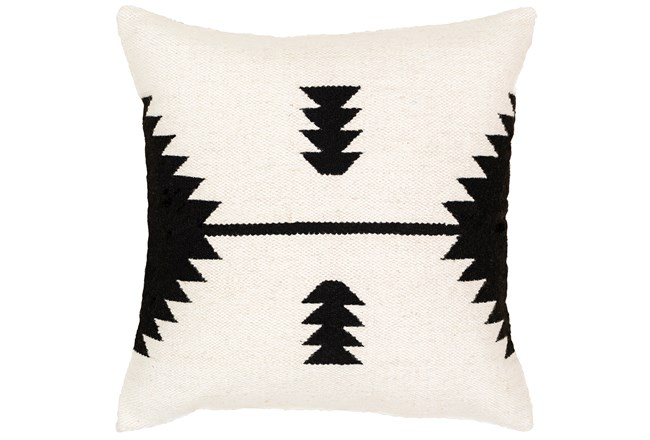 Accent Pillow-Mod Southwest Arrows Black And White 20X20 - 360