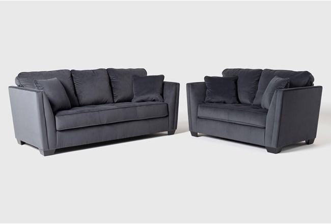 Maven Shadow 2 Piece Living Room Set - 360