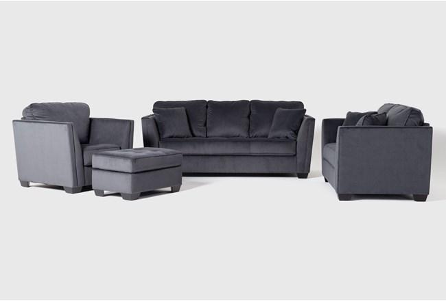 Maven Shadow 4 Piece Living Room Set - 360