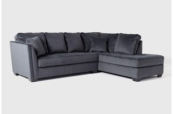 "Maven Shadow 2 Piece 112"" Sectional with Right Arm Facing Chaise"