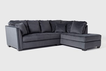"""Maven Shadow 2 Piece 112"""" Sectional with Right Arm Facing Chaise"""