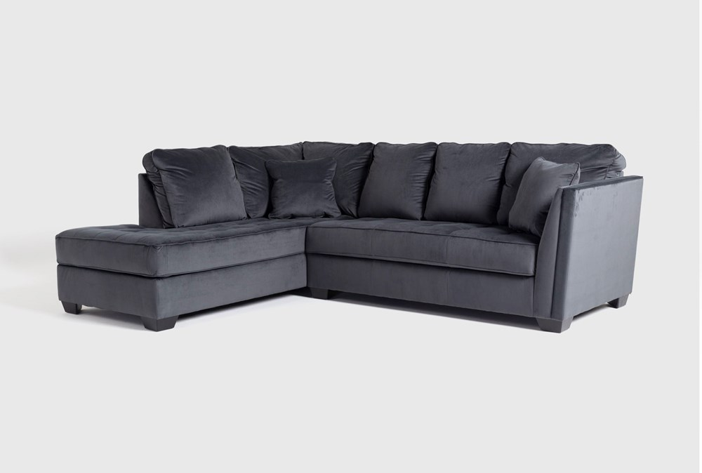 "Maven Shadow 2 Piece 112"" Sectional with Left Arm Facing Chaise"