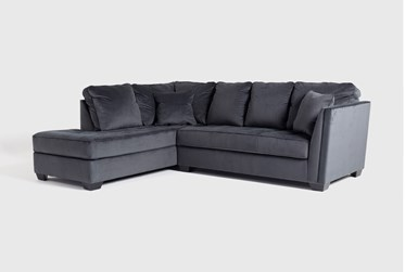 """Maven Shadow 2 Piece 112"""" Sectional with Left Arm Facing Chaise"""