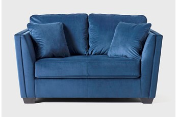 Maven Ink Blue Loveseat
