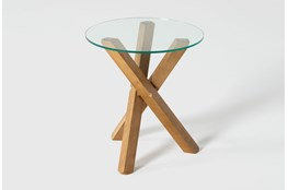Pitch End Table