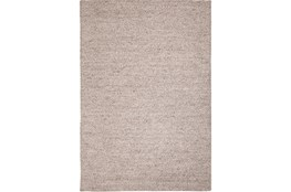 60X96 Rug-Karisa Braided Heather Grey