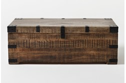 Wally Lift-Top Trunk Coffee Table