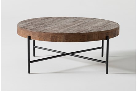 Dunkin 39 Inch Round Coffee Table