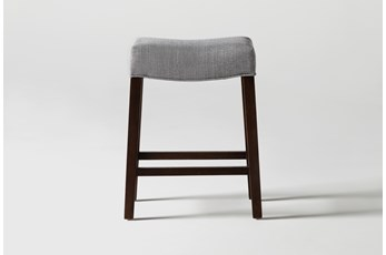 Cheswick Grey Counter Stool