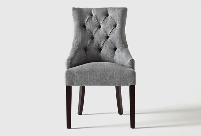 Perla II Grey Dining Side Chair - 360
