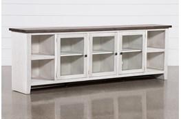 Dixon White 97 Inch Tv Stand