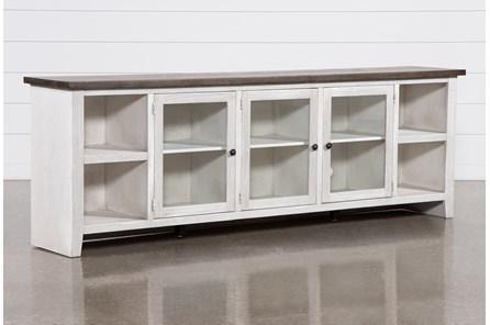 Dixon White 97 Inch Tv Stand - Main