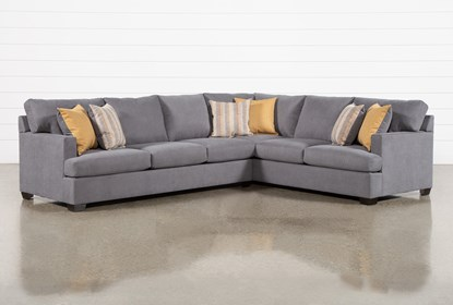 Kit-Emmeline 2 Piece Sectional With Left Arm Facing Sofa
