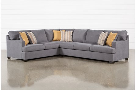 Emmeline 2 Piece Sectional With Right Arm Facing Sofa