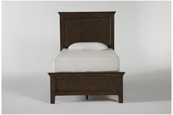 Dawson Chestnut Twin Panel Bed
