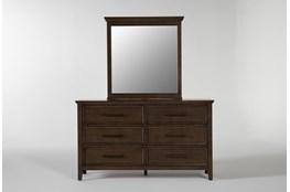 Dawson Chestnut Dresser/Mirror