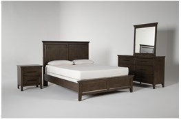 Dawson Chestnut Queen 4 Piece Bedroom Set