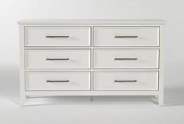 Dawson White 6 Drawer Dresser