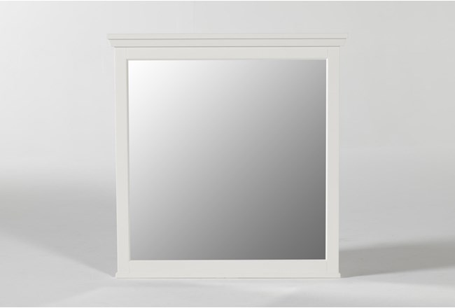 Dawson White Mirror - 360