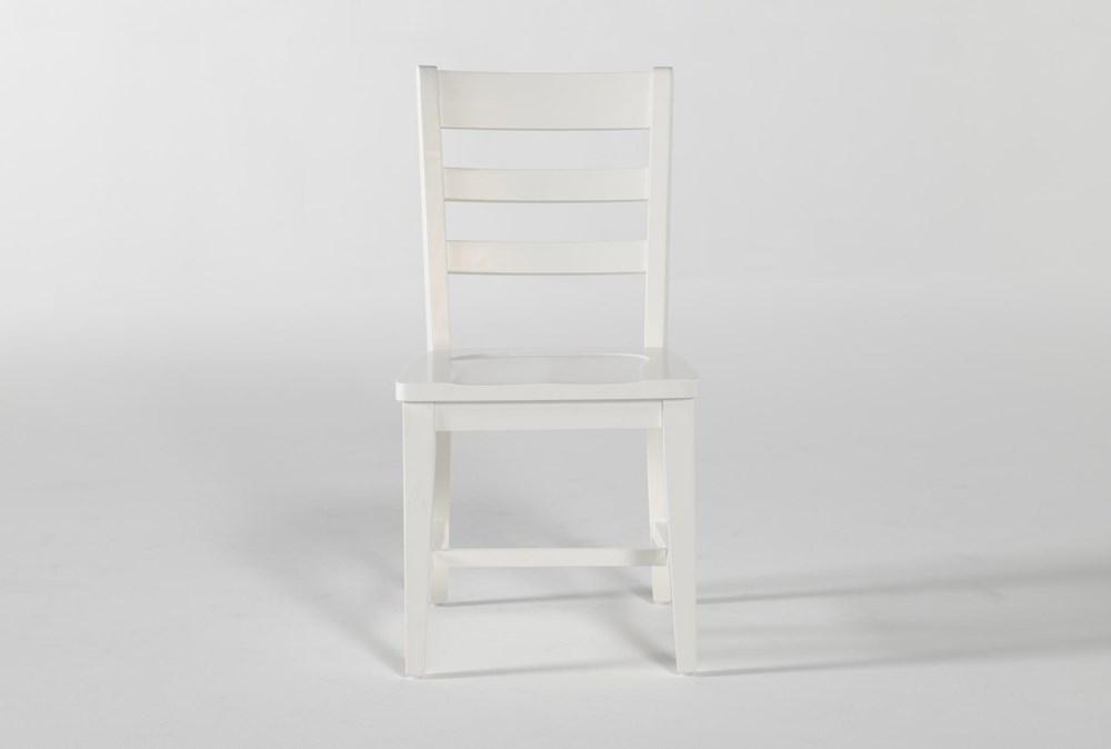 Dawson White Desk Chair