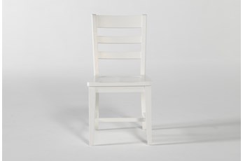 Dawson White Desk Chair