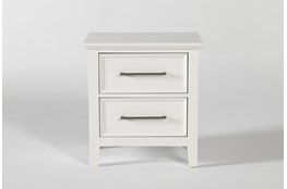 Dawson White Nightstand