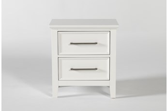 "Dawson White 28"" Nightstand"