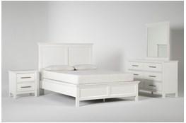 Dawson White Full 4 Piece Bedroom Set