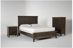 Dawson Chestnut Full 3 Piece Bedroom Set