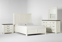 Garland Queen Panel 4 Piece Bedroom Set