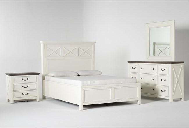 Garland Queen Panel 4 Piece Bedroom Set - 360