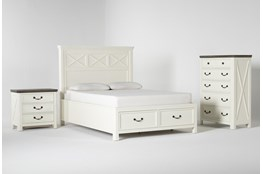 Garland Queen Storage 3 Piece Bedroom Set