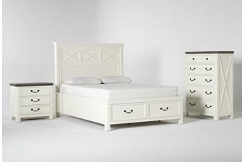 Garland Queen Storage 3 Piece Bedroom Set