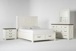 Garland Queen Storage 4 Piece Bedroom Set