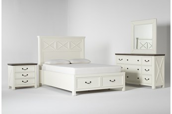 Garland Queen Storage 4 Piece Bedroom Set