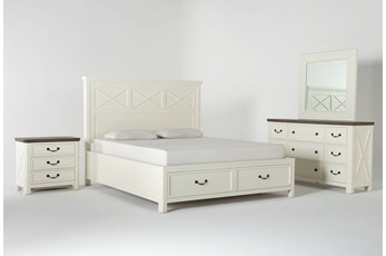 Garland Eastern King Storage 4 Piece Bedroom Set