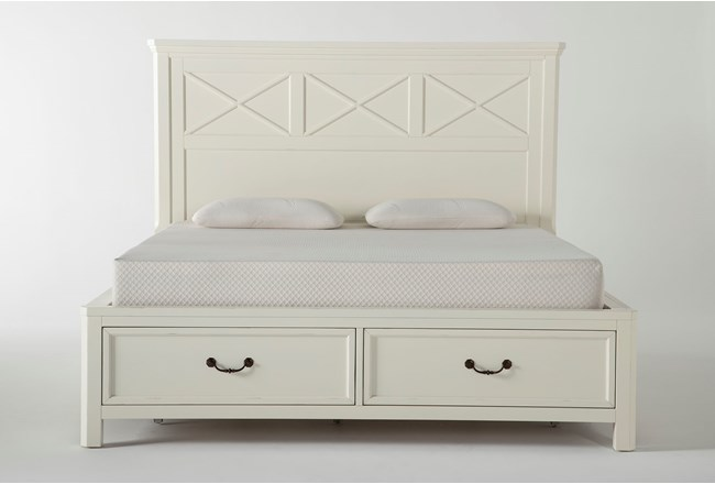Garland Eastern King Panel Bed With Storage - 360