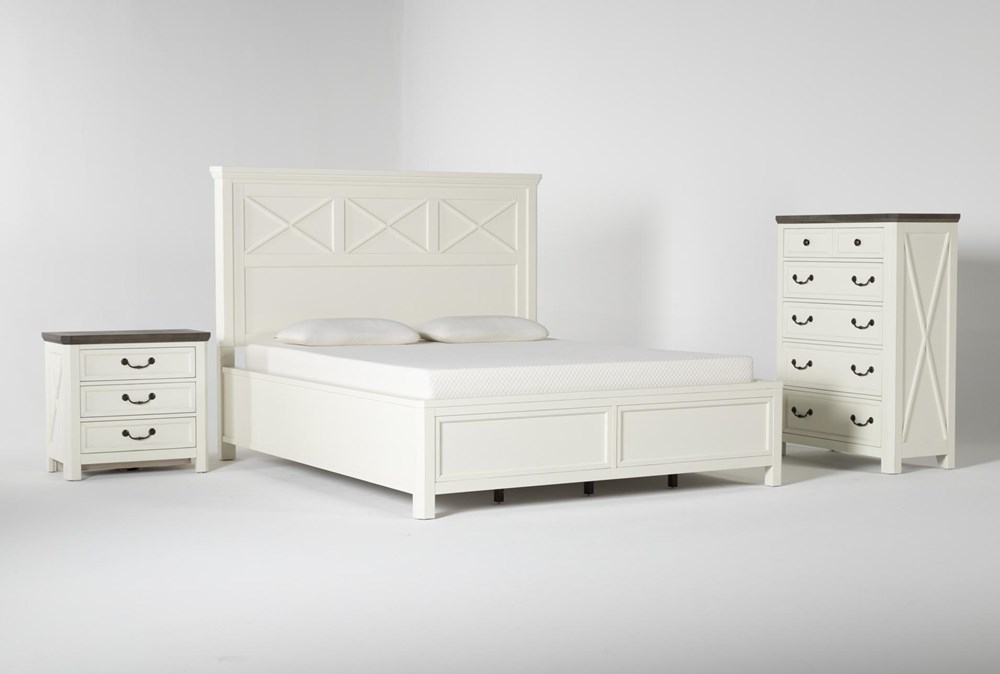 Garland California King Panel 3 Piece Bedroom Set