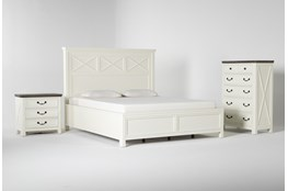 Garland California King Panel 3 Piece Bedroom Set